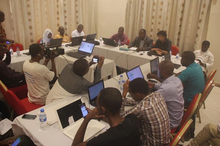 Formation TIC / Les collégiens initiés à la création de site web